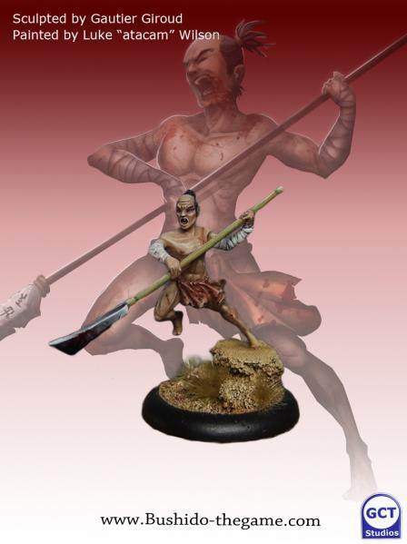Bushido Miniatures: (Savage Wave) Jun (Oni Slave)