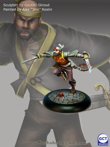 Bushido Miniatures: (Silvermoon Trade Syndicate) Wasupu & Senpu