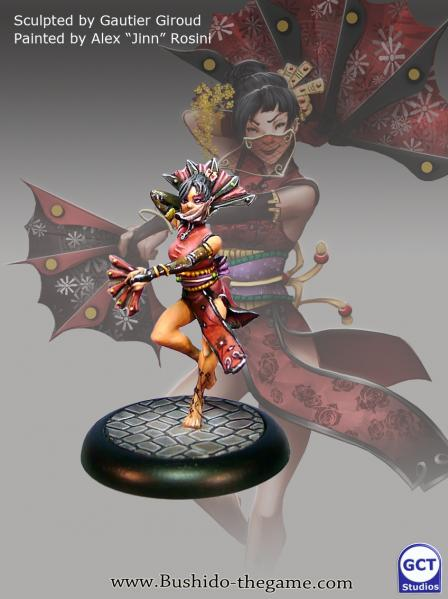 Bushido Miniatures: (Silvermoon Trade Syndicate) Tsubaki