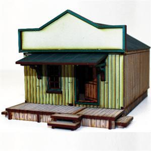 28mm Dead Mans Hand:  Side Street Building 1