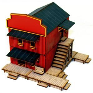 28mm Dead Mans Hand:  Main Street Building 1
