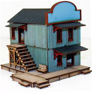 28mm Dead Mans Hand:  Main Street Building 2