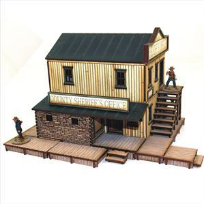 28mm Dead Mans Hand: Sheriff's Office