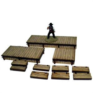 28mm Dead Mans Hand - Add-ons: Boardwalks