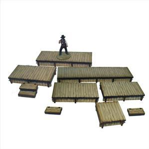 28mm Dead Mans Hand - Add-ons: Long Boardwalks
