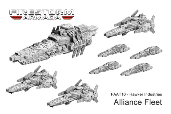 (The Alliance Of Kurak) Hawker Industries Fleet