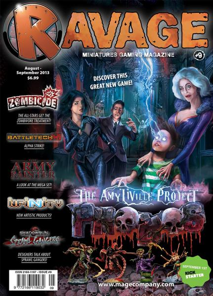 Ravage Magazine #9 (English Edition)