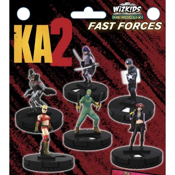Kick-Ass 2 HeroClix: Fast Forces
