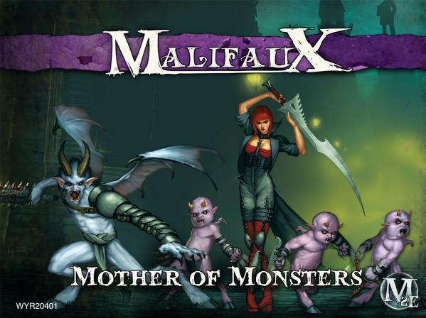 Malifaux: (The Neverborn) Mother Of Monsters (Lilith Crew Box Set)