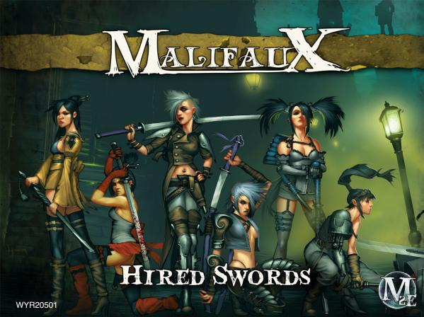 Malifaux: (The Outcasts) Hired Swords