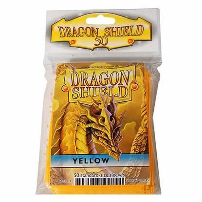 Yellow Card Sleeves (50)