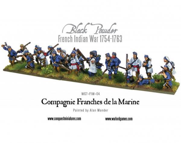 Black Powder (French-Indian War): Compagnie Franches De La Marine