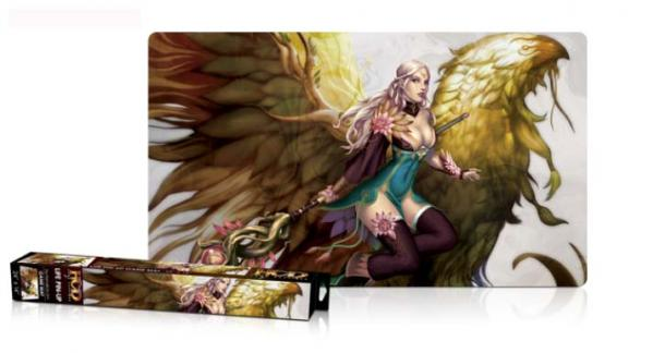 Gaming Accessories: Priestess of Life Pin Up Game Mat