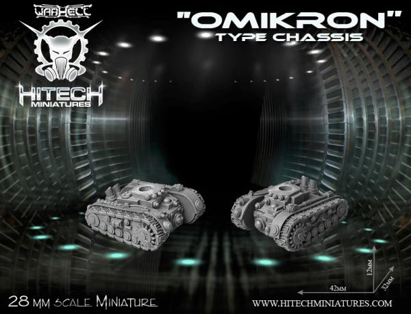 Miniatures Accessories: (Warhell) Omikron Chasis
