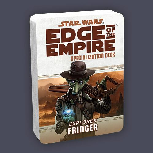 Edge of the Empire RPG: Specialization Deck - Fringer