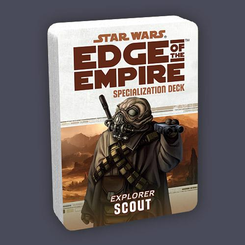 Edge of the Empire RPG: Specialization Deck - Scout