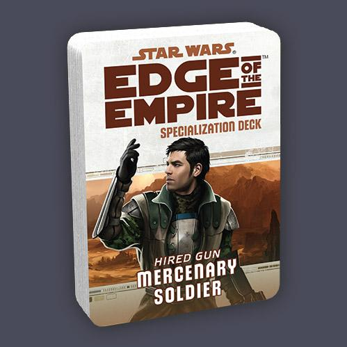 Edge of the Empire RPG: Specialization Deck - Mercenary Soldier