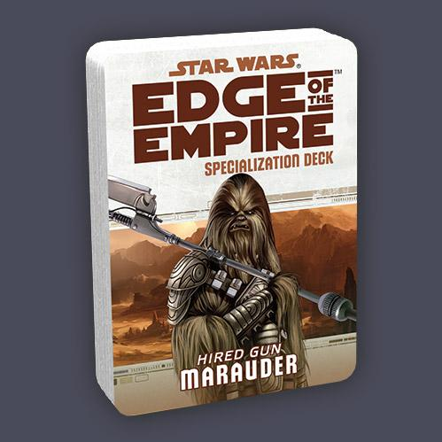 Edge of the Empire RPG: Specialization Deck - Marauder