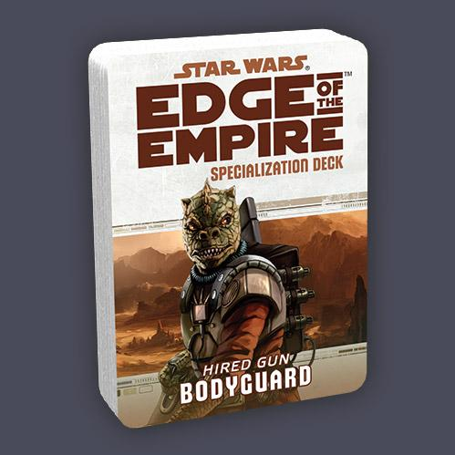 Edge of the Empire RPG: Specialization Deck - Bodyguard