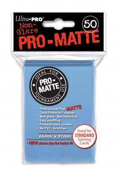 Ultra-Pro:  Pro-Matte Light Blue Deck Protector (50ct)