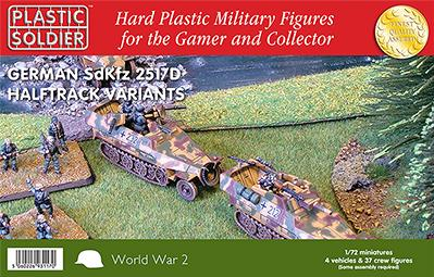 20mm WWII - German: Sdkfz 251/D Variants Kit