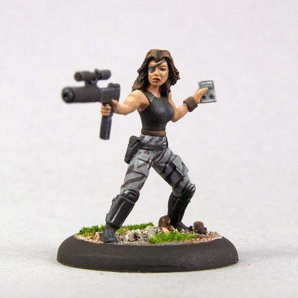 Bombshell Miniatures: Blake Russell