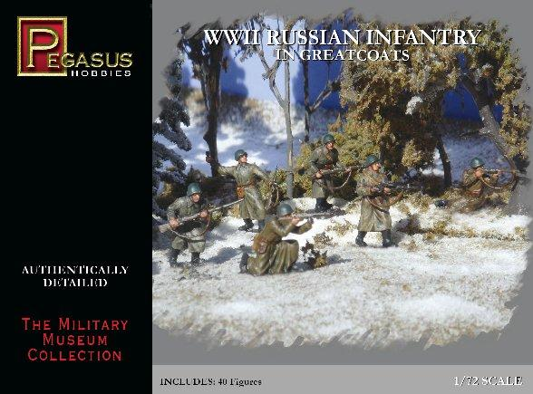 20mm WWII: Russian Infantry in Greatcoats