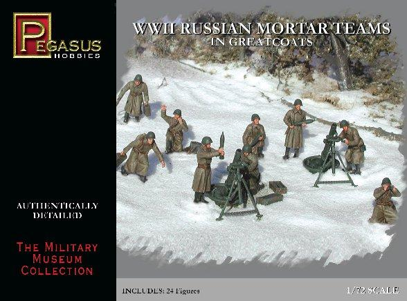 20mm WWII: Russian Mortar Teams in Greatcoats