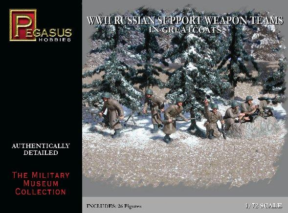 20mm WWII: Russian Support Weapon Teams in Greatcoats
