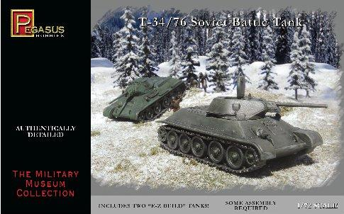 20mm WWII: Russian T-34/76 Tanks