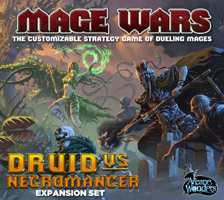 Mage Wars Expansion: Druid vs Necromancer