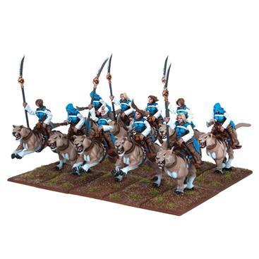 Kings of War: Basilean Sisterhood Lancers (10)