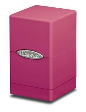 Ultra Pro: Bright Pink Satin Tower Deck Box
