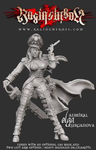 Raging Heroes: Admiral Olga Kurganova