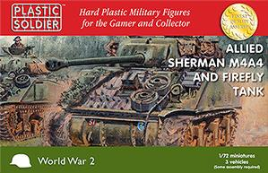 20mm WWII (American): Sherman M4A4/Firefly Tank