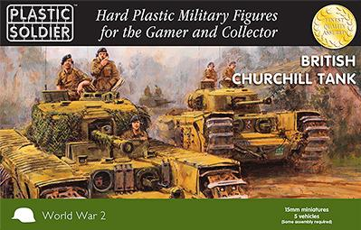 15mm WWII (British): Churchill Tank