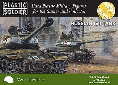 15mm WWII (Russian):  IS2 Tank