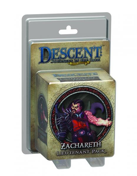 Descent: Zachareth Lieutenant Pack