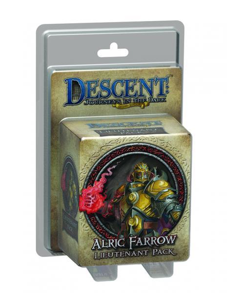 Descent: Alric Farrow Lieutenant Pack
