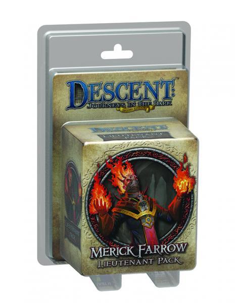 Descent: Merick Farrow Lieutenant Pack