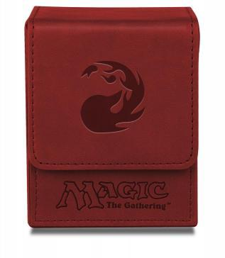 Magic The Gathering: Mana Flip Deck Box (Red)