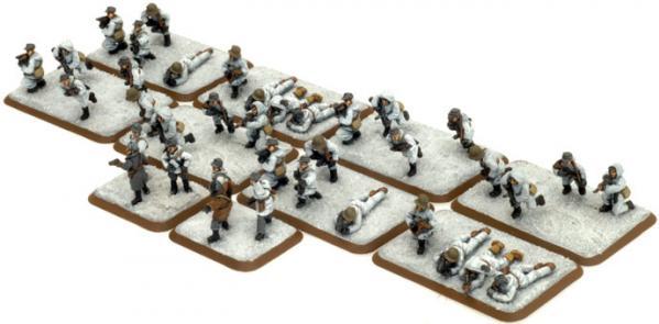 Flames of War: J��kari SMG Platoon (Winter)