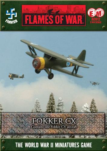 Flames Of War (WWII): (German) Fokker CX