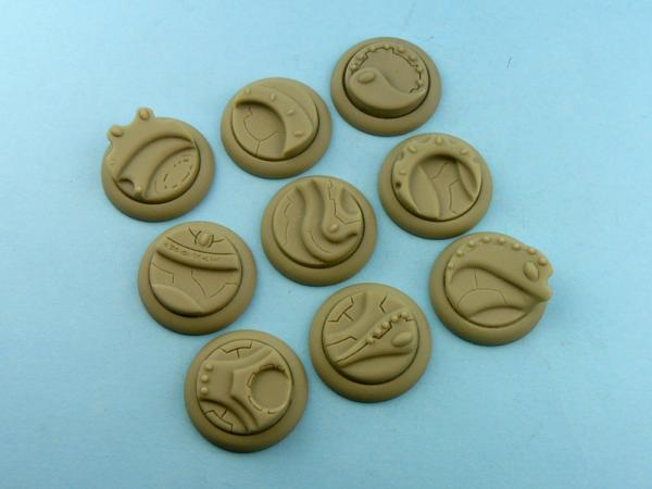 Battle Bases: Wraithstone Bases, WRound 30mm (5)
