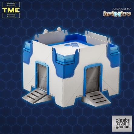 Infinity Terrain: TME Simple Module - 2 doors