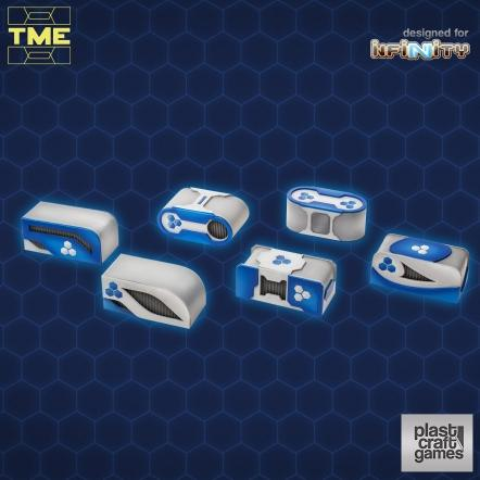 Infinity Terrain: TME- 6 Containers Set