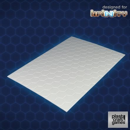 Infinity Terrain: 2mm hexagonal textured PVC sheet