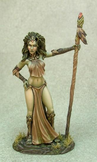 Visions In Fantasy: Wood Elf Godess, Avatar Form