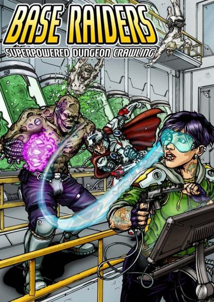 Superpowered RPG: Base Raiders