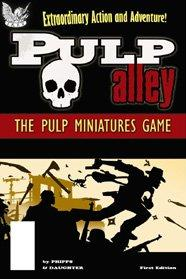 Pulp Alley Miniature Game: Rulebook